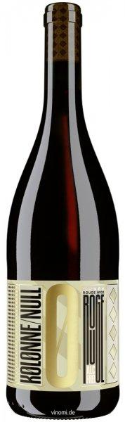 Kolonne Null Cuvée Rouge No.1 - Alkoholfreier Wein