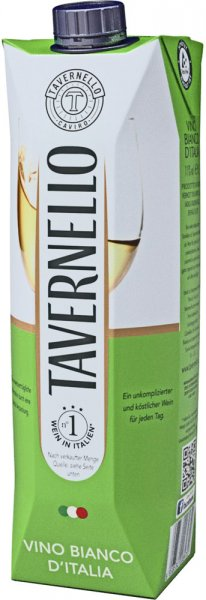 Tavernello Vino D'Italia Bianco
