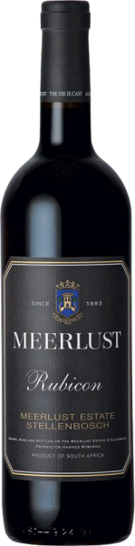Meerlust Wine Estate Meerlust Rubicon 2017