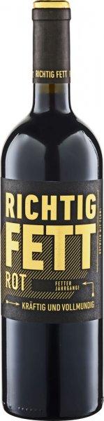Cramele Recas RICHTIG FETT Rotwein halbtrocken 2019