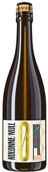 Kolonne Null Rosé Prickelnd 2019 - Alkoholfreier Sekt