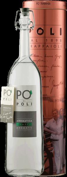 Grappa Po' di Poli Aromatica - Aromatic in Geschenkdose