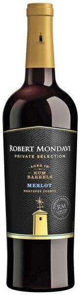 Robert Mondavi Private Selection Rum Barrels Merlot