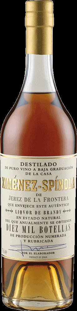 Ximenez-Spinola Brandy Diez Mil Botellas