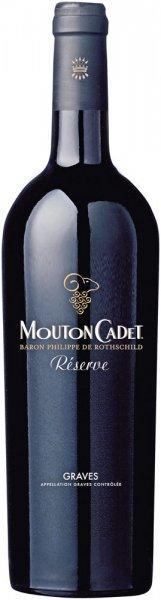Baron Philippe de Rothschild Mouton Cadet RĂ©serve Graves rouge AOC 2016