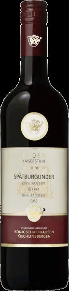Königschaffhausen-Kiechlinsbergen Spätburgunder mild
