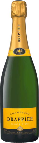 Champagne Drappier Drappier Carte d'Or Brut Champagner (0,375 L) - halbe Flasche