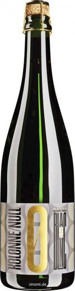 Kolonne Null Cuvée Blanc Prickelnd No.1 - Alkoholfreier Sekt