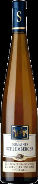 Domaines Schlumberger Pinot Gris Cuvée Clarisse Sélection Grains Nobles