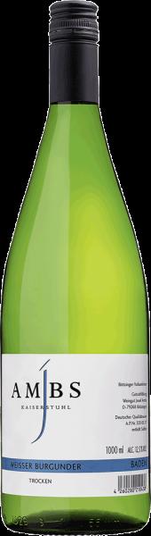 Weingut Josef Ambs Ambs Weisser Burgunder 1 Liter 2018