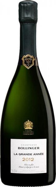 Champagne Bollinger Bollinger La Grande Année 2012