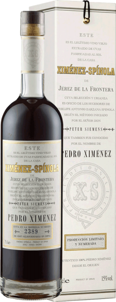Ximenez-Spinola Very Old Harvest Pedro Ximenez