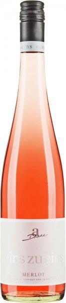 Weingut Diehl Diehl Merlot Rosé eins zu eins feinherb 2019