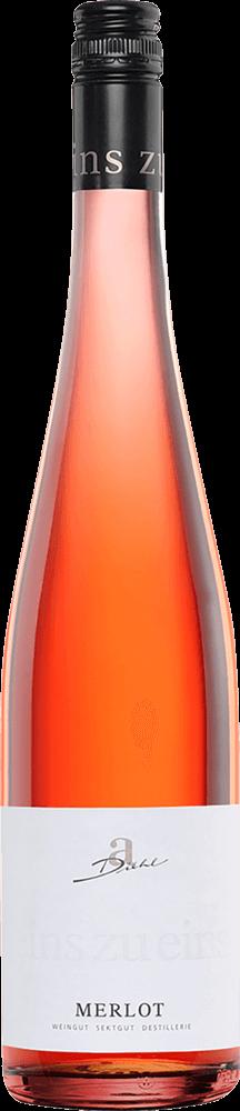 Diehl Merlot Rosé eins zu eins - feinherb