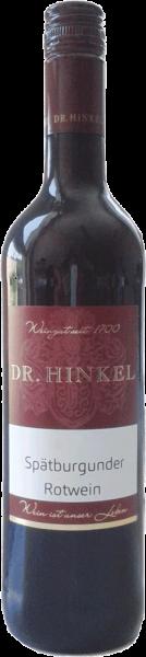 Dr. Hinkel Spätburgunder Rotwein mild 2017