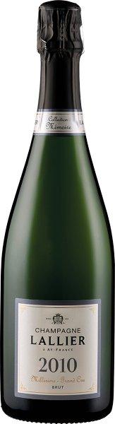 Champagne Lallier Millésime Grand Cru - in Geschenkkartonage - 2010