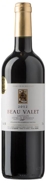 Beau Valet Castillon Côtes de Bordeaux
