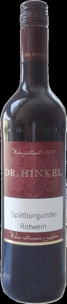 Dr. Hinkel Spätburgunder Rotwein mild