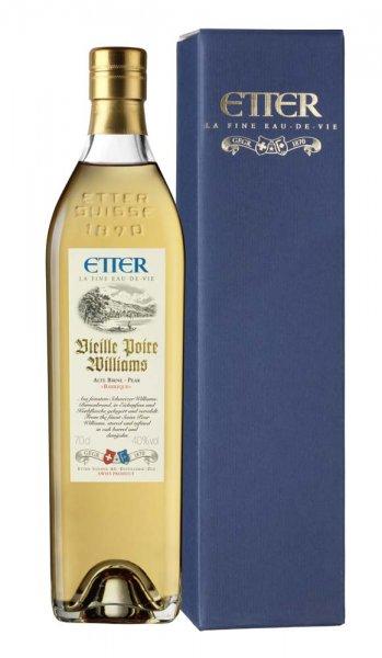 Etter Söhne AG Distillerie Zug Etter Vieille Poire Williams in Geschenkverpackung
