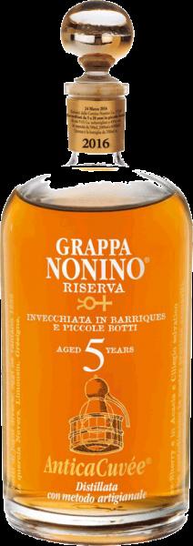 Nonino Grappa Riserva Antica Cuvée 5 Years