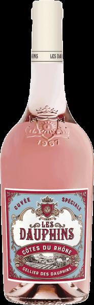 Les Dauphins Côtes du Rhône Rosé Cuvée Spéciale