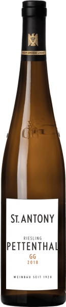 St. Antony Riesling Pettenthal GG