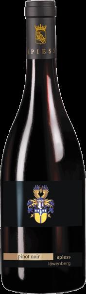 Weingut Spiess Pinot Noir Löwenberg 2013