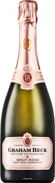 Graham Beck Wines Graham Beck Brut Rosé