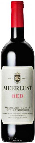 Meerlust Wine Estate Meerlust Red Stellenbosch 2018