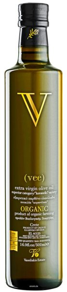 Vassilakis Vee Bio Olivenöl Kreta Extra Nativ 0,5 Liter | Vassilakis Estate (BIO)