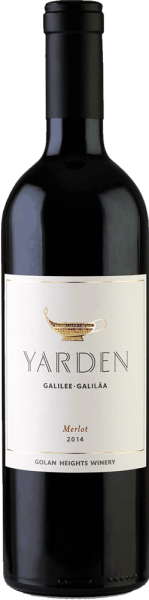 Golan Heights Winery Yarden Merlot Koscher Wein 2017
