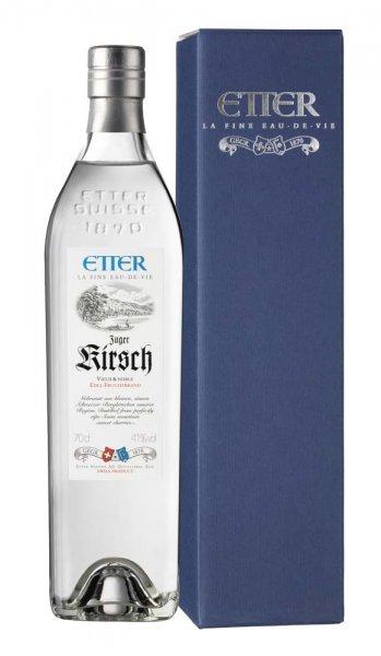 Etter Söhne AG Distillerie Zug Zuger Etter Kirsch in Geschenkpackung
