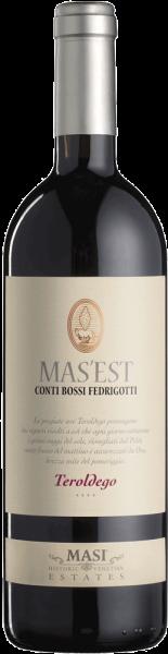Bossi Fedrigotti Mas'est Teroldego 2017