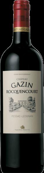 Château Gazin Rocquencourt Rouge Pessac-Léognan 2015