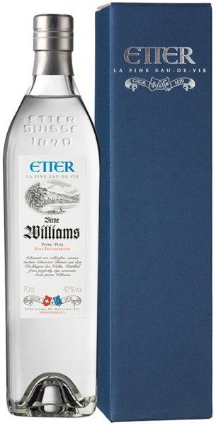 Etter Söhne AG Distillerie Zug Etter Birne Williams in Geschenkpackung