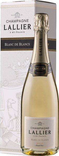 Champagne Lallier Blanc de Blancs Grand Cru - in Geschenkkartonage