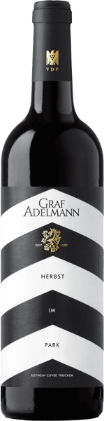 Graf Adelmann Herbst im Park Rotwein Cuvée 2016