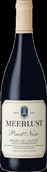 Meerlust Wine Estate Meerlust Pinot Noir 2018