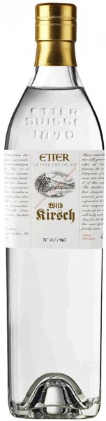 Etter Söhne AG Distillerie Zug Etter Wild Kirsch in Geschenkverpackung 2012