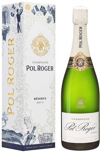 Champagner Pol Roger Reserve Brut im Geschenk-Etui
