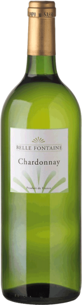 Belle Fontaine Chardonnay 1 Liter