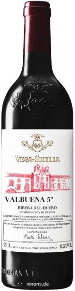 Vega Sicilia Valbuena 5 DO Ribera del Duero 2016