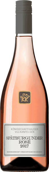 WG Königschaffhausen Königschaffhauser Vulkanfelsen Spätburgunder Rosé 2019