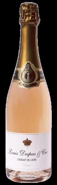 Louis Despas Cremant de Loire Rosé Brut