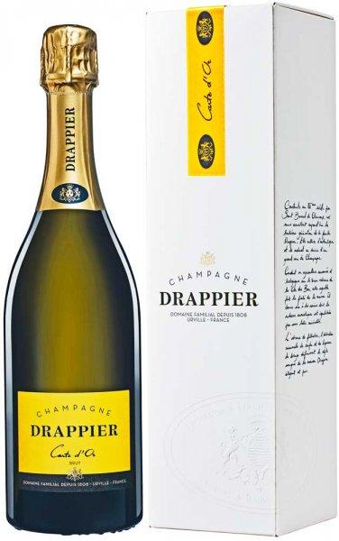 Drappier Carte d'Or Brut Champagner im hochwertigen Geschenk-Etui