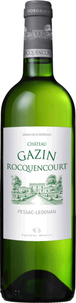 Château Gazin Rocquencourt Blanc Pessac-Léognan 2015