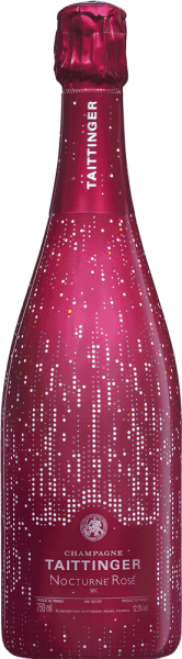 Champagne Taittinger Nocturne Rosé 'City Lights'