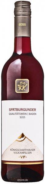 WG Königschaffhausen-Kiechlinsbergen Königschaffhauser Vulkanfelsen Spätburgunder süss 2020