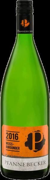 Pfannebecker WeiĂźburgunder 1 Liter 2019