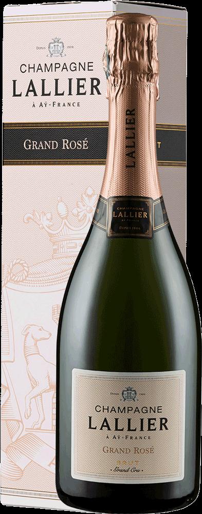 Champagne Lallier Rosé Grand Cru Brut - in Geschenkkarton